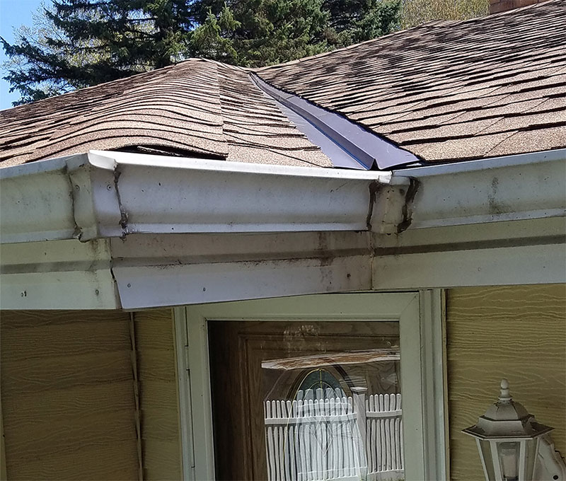 Old Seamless Gutters